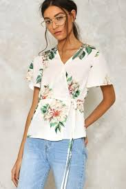 floral blouse all together now floral blouse shop clothes at gal