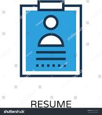 Resume Vector Resume Vector Icon เวกเตอร สต อก 539916379 Shutterstock