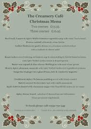 christmas party bookings open in the creamery cafe apley farm