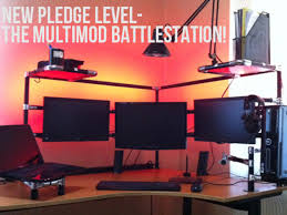 Kickstarter Gaming Desk Multimod Consoles Hack Your Workspace By Wilmer