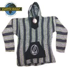 baja sweater mens grateful dead baja hoodie with your earth ragz