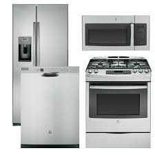 ge kitchen appliance packages kitchen appliance bundles bertazzoni 5piece stainless steel