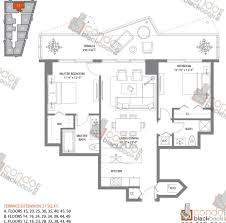 Midtown Residences Floor Plan by Sls Hotel U0026 Residences Unit 1811 Condo For Sale In Brickell