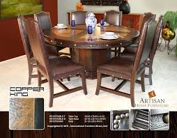 Reclaimed Dining Room Table Copper Dining Table Light Copper Dining Table And Chairs