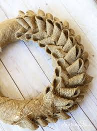 How To Build An Inexpensive Home How To Make An Inexpensive Burlap Wreath Tutorial Make Wreath