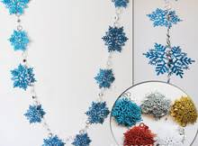 Glitter Snowflake Christmas Tree Decorations by Popular Gold Snowflake Ornaments Buy Cheap Gold Snowflake