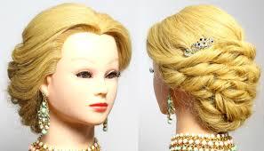 prom hairstyle wedding updo bridal bridesmaid long hair tutorial