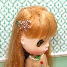 barrettes hair gingerbread boy barrettes hair for dolls brown eyed