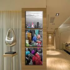 aliexpress com buy 3 pcs set vertical modern art colorful new