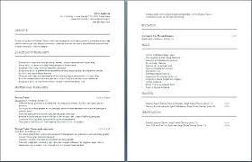 Sample Fitness Instructor Resume Sample Resume For Fitness Instructor Personal Trainer Resume