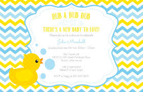 colors duck baby shower invitations