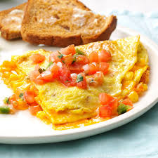 fresh corn omelet recipe taste of home
