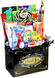 thank you gift baskets retro candy gifts and vintage candy assortments thank you candy
