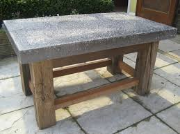 Concrete Tables For Sale Coffee Table Aida Industrial Concrete Coffee Table