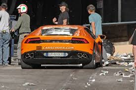 Lamborghini Huracan Back - new lamborghini huracan in orange looks and sounds bellissimo w