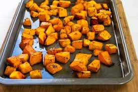 Oven Roasted Root Vegetables Balsamic - roasted butternut squash with rosemary and balsamic vinegar