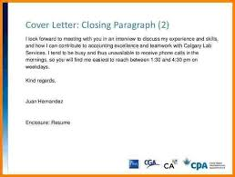 strong closing sentence for cover letter cover letter sample