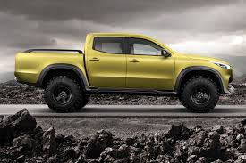 yellow nissan truck mercedes announces their new pickup truck the mustang source