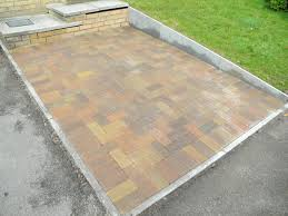 Sealing A Paver Patio by Sealing A Marshall Block Paving Driveway Patio Or Walkway By