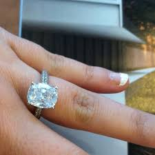 rectangle cushion cut engagement rings 259 best engagement rings images on engagement rings