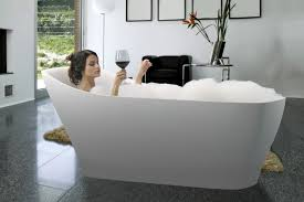 Free Standing Bathtub Glamorous Standalone And Freestanding Bathtubs Made From Award