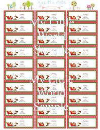free printable address labels happy holidays