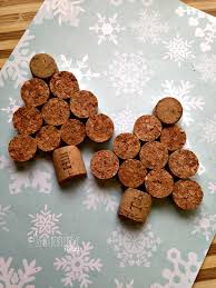 tree wine cork ornaments this worthey