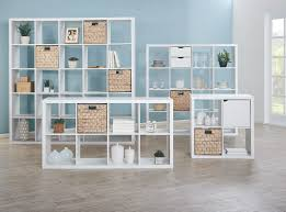 Cube Storage Shelves The Matrix Storage Shelves In White And Cancun Baskets In