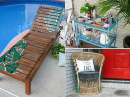 How To Restore Wicker Patio Furniture by How To Refinish Outdoor Wood Furniture Hgtv