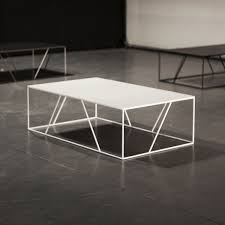 Designer Coffee Tables by Contemporary Coffee Table Metal Rectangular Vidame