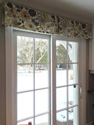 wonderful patio door valance 135 sliding glass door wood valances