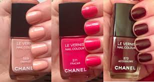 the beauty of life chanel 2013 spring couture nail polish swatches