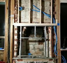 air sealing u0026 insulating an exterior chimney