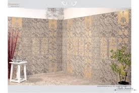 retro tiles bathroom floor ornamenti decoration