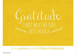 30 days of thanksgiving the 2015 gratitude journal blooming