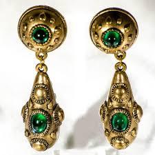 1970s earrings 127 best vintage clip on earrings images on vintage