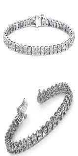 black fashion jewelry bracelet images 5 00 ct round cut diamond s type tennis bracelet bracelets womens jpg