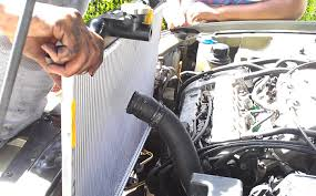 hyundai radiator swap demonstrated on a hyundai sonata v6 2000