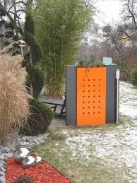 pflanzkasten mit sichtschutz modular mit dekorstanzung h x b 100 x 60 cm