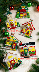breitville bucilla felt ornament kit 86387