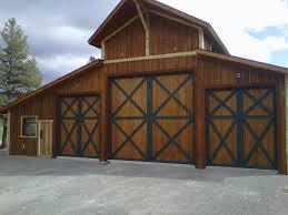 Overhead Barn Doors Duper Custom Home Garage Custom Garage Barn Door Overhead
