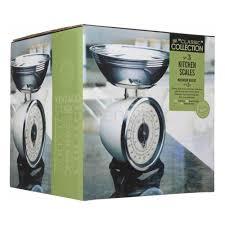 Vintage Kitchen Scales Kitchen Craft Cream Enamelled Mechanical Kitchen Scale 2kg