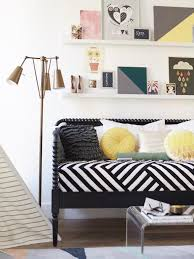 space seating interior small space solutions living room with stripes loveseat
