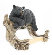 Bear Bathroom Accessories by Best Black Bear Bathroom Accessories Sets Decor Reviews Black