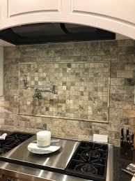 kitchen backsplash ideas for black granite countertops new lake house kitchen makeover phase 1 painted tile