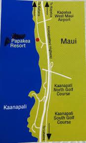 Papakea Resort Map Direct Ocean Front Papakea Condo F104 Maui Owner Rental