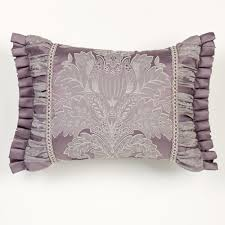 ambience damask comforter bedding ambience flanged pillow wisteria rectangle