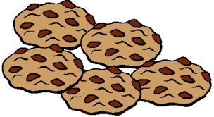 Chocolate Chip Cookie Coloring Page Free Clipart Clipartbarn Coloring Cookies