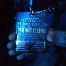 halloween horror nights fast passes front of the front of the line passes so worth it yelp