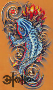 pinks dragon tattoo 2 girly koi fish tattoos girly koi cb and lotus color by lavonne